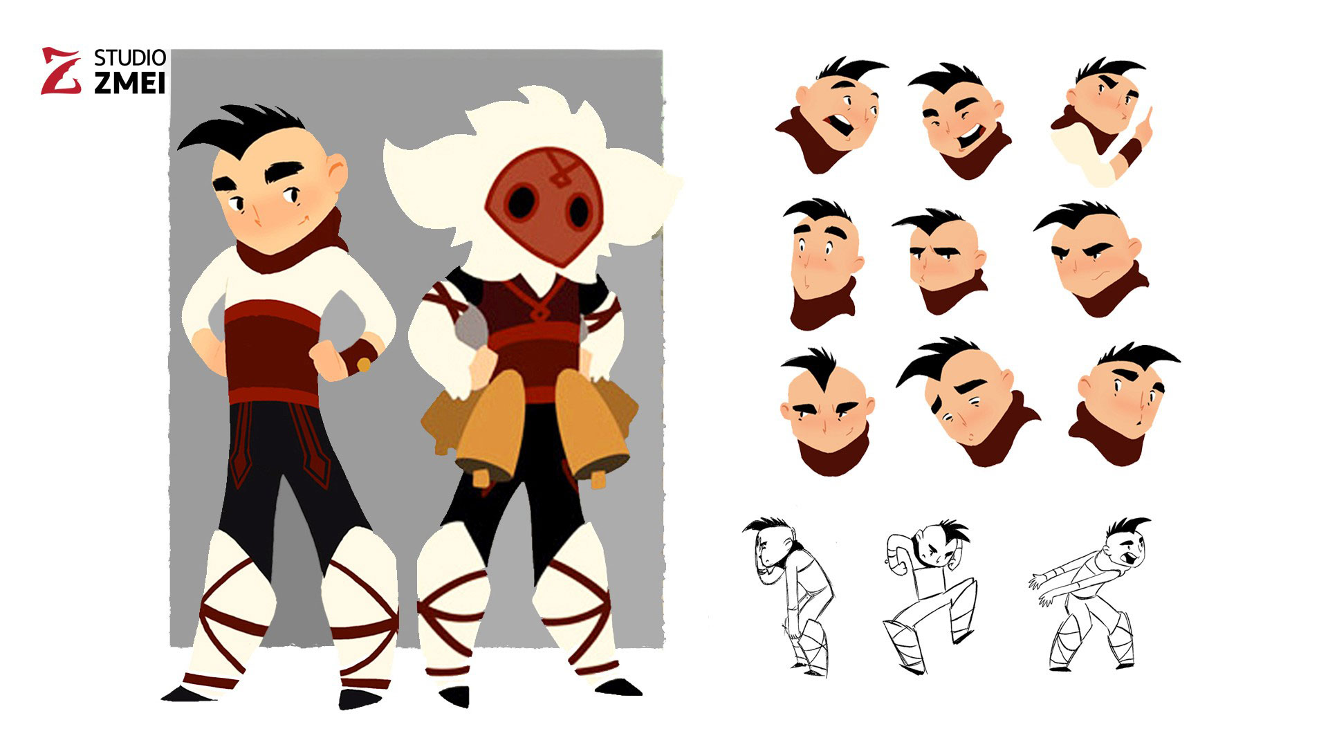 Character Design Studio : Character design the golden apple studio zmei